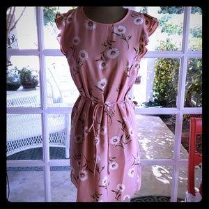 Forever21 printed floral dress